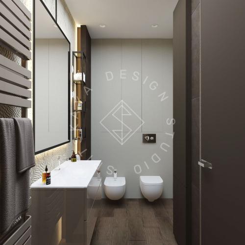 "Дизайн проект квартиры в ЖК ""Bartolomeo Resort Town"" - 20"
