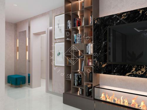 Дизайн проект интерьера жилого дома - 6