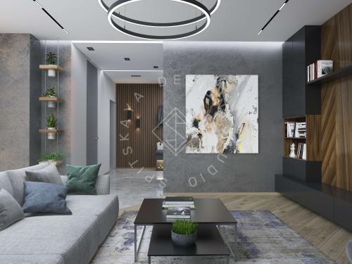 """Дизайн квартиры в ЖК """"Comfort City"""" - 14"""
