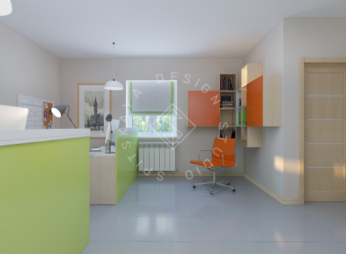 Дизайн офиса компании Восток газ г. Днепр - 6