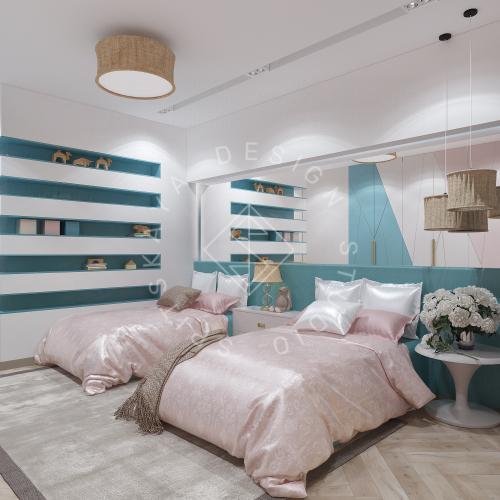 Дизайн квартиры 120 м2 - 13