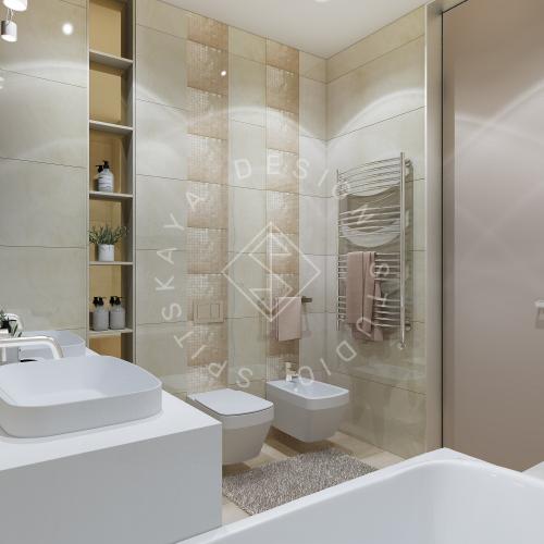 Дизайн квартиры 120 м2 - 22