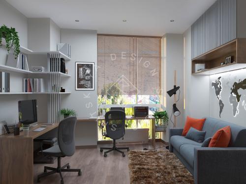 Дизайн квартиры в ЖК Панорама г. Днепр - 16