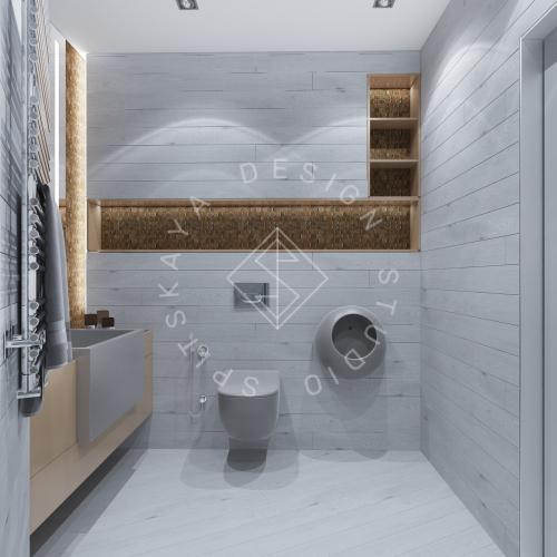 Дизайн интерьера квартиры в ЖК Чкаловский - 17