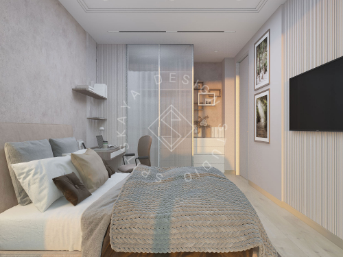 "Дизайн проект квартиры в ЖК ""Bartolomeo Resort Town"" - 36"