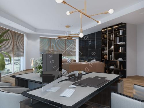 """Дизайн офиса в ЖК """" Бартоломео"""" - 16"""