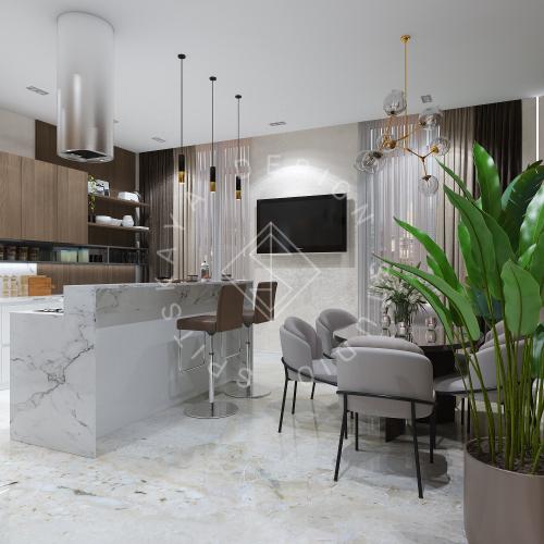 Дизайн интерьера квартиры в ЖК Comfort City Lux - 3