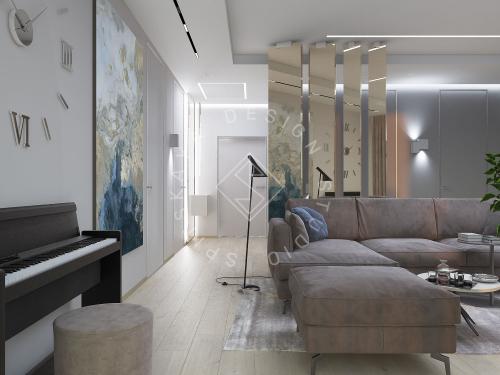 "Дизайн проект квартиры в ЖК ""Bartolomeo Resort Town"" - 9"