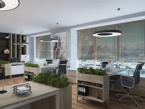"""Дизайн офиса в ЖК """" Бартоломео"""" - 30"""