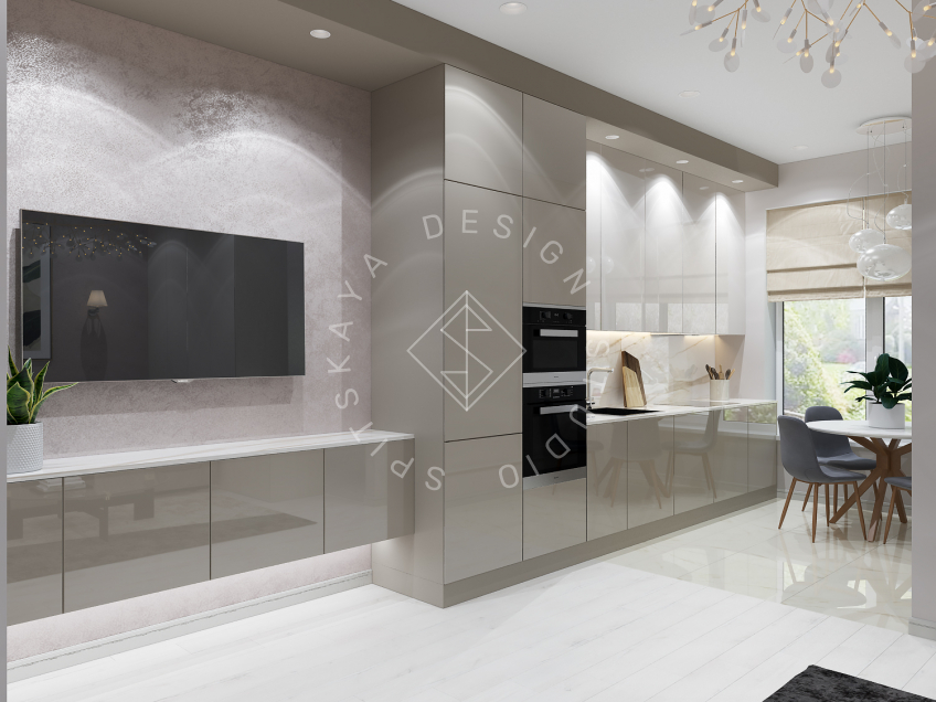 Дизайн интерьера квартиры под сдачу