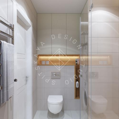 Дизайн проект квартиры в ЖК Республика - 22