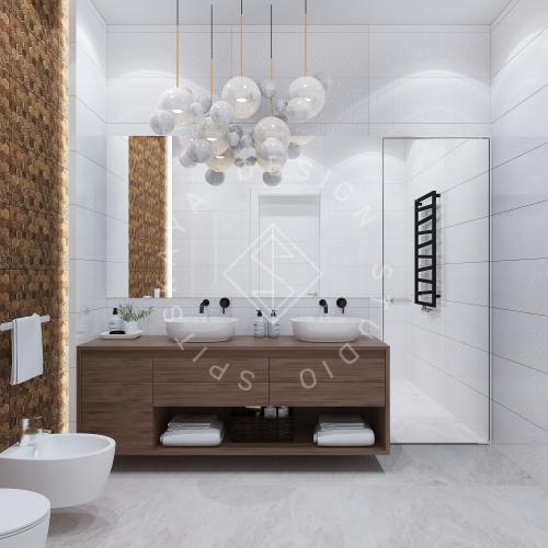 Дизайн интерьера квартиры в ЖК Comfort City Lux - 35