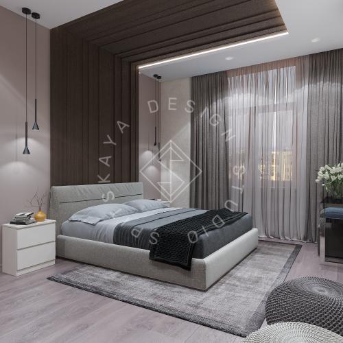 Дизайн интерьера квартиры в ЖК Comfort City Lux - 20