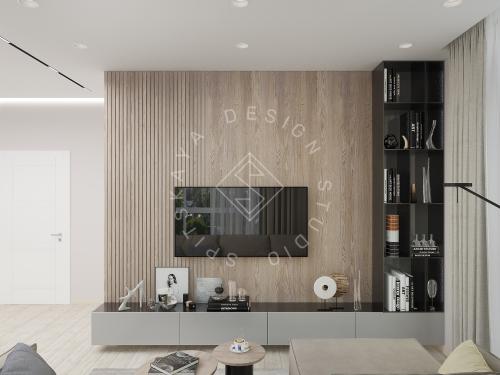 Дизайн интерьера квартиры в ЖК Грани - 11