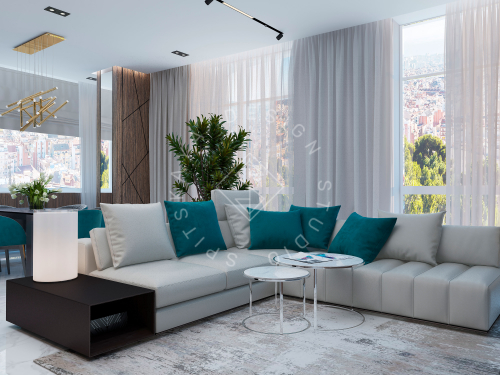 Дизайн квартиры в ЖК Панорама г. Днепр - 4