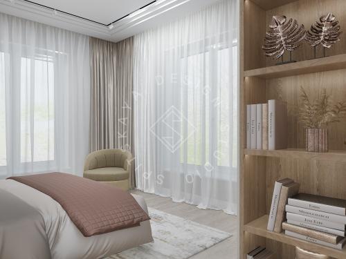 Дизайн интерьера жилого дома г. Днепр - 14