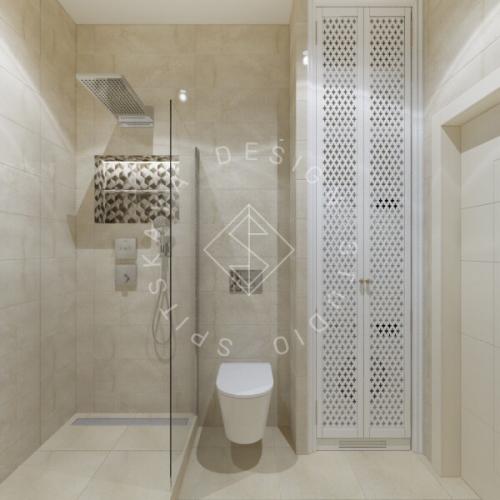 Дизайн трехкомнатной квартиры новом доме - 22