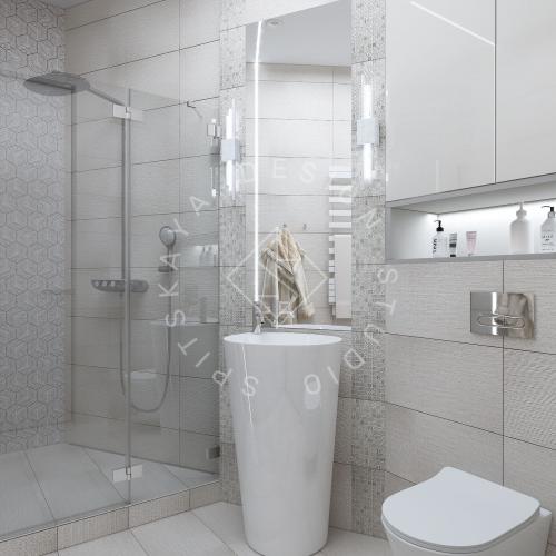 "Дизайн проект квартиры в ЖК ""Bartolomeo Resort Town"" - 27"