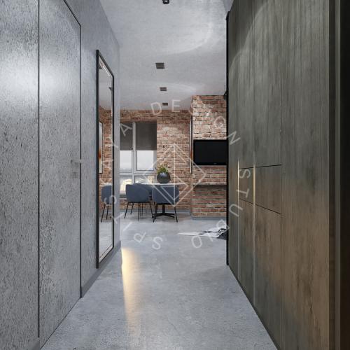 """Дизайн интерьера квартиры в стиле """"LOFT"""" ЖК """"RIVER PARK"""" - 14"""
