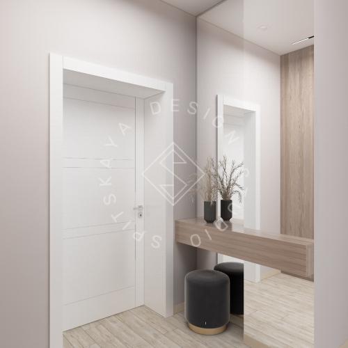 Дизайн интерьера квартиры в ЖК Грани - 2