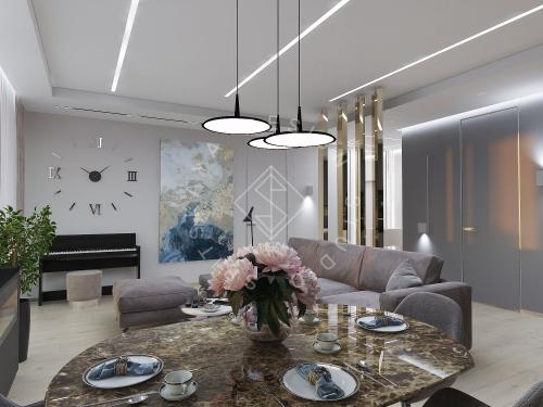 "Дизайн проект квартиры в ЖК ""Bartolomeo Resort Town"" - 7"