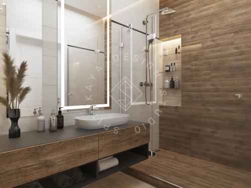 Дизайн интерьера квартиры в ЖК Грани - 16