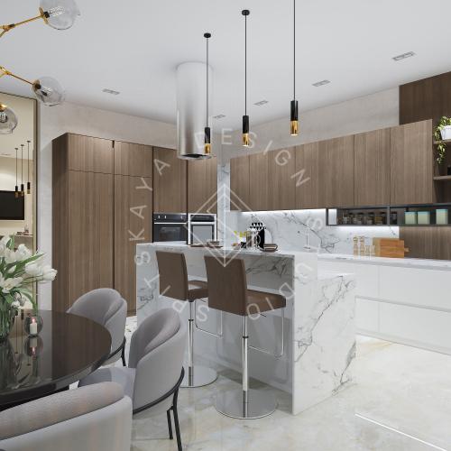 Дизайн интерьера квартиры в ЖК Comfort City Lux - 6