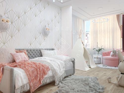 """Дизайн квартиры в ЖК """"Comfort City"""" - 8"""