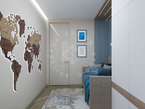 Дизайн проект интерьера жилого дома - 22