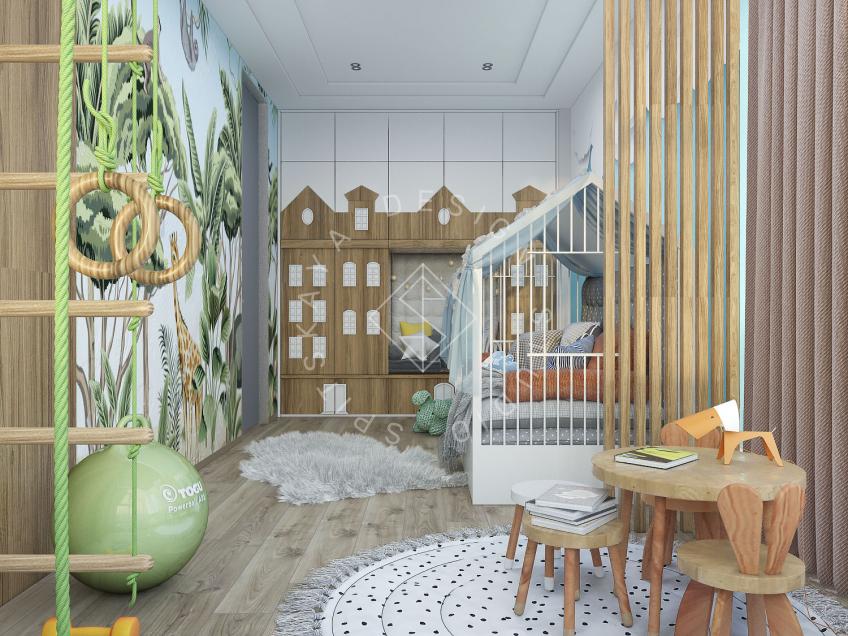 """Дизайн квартиры в ЖК  """"Comfort City"""""""