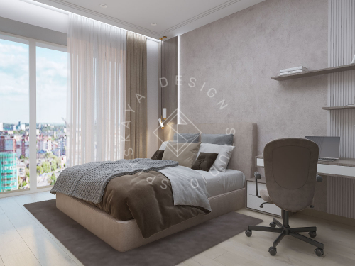 "Дизайн проект квартиры в ЖК ""Bartolomeo Resort Town"" - 38"