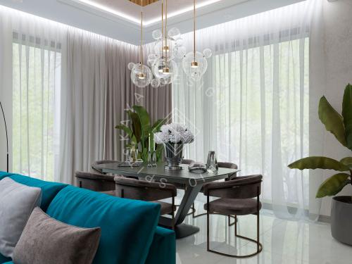 Дизайн проект интерьера жилого дома - 4