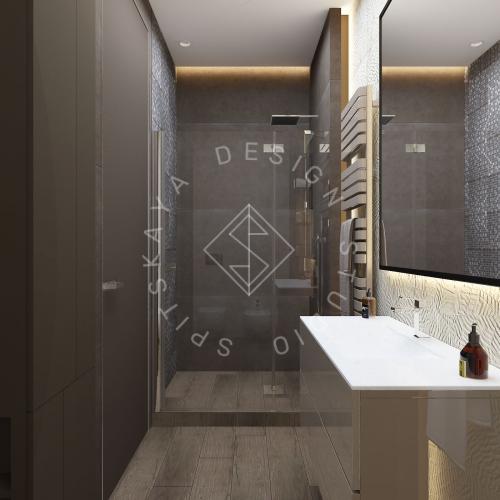 "Дизайн проект квартиры в ЖК ""Bartolomeo Resort Town"" - 19"