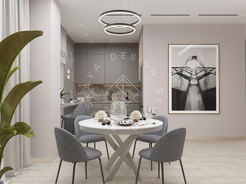 Дизайн интерьера квартиры в ЖК Грани - 7