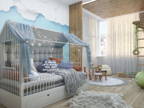 """Дизайн квартиры в ЖК """"Comfort City"""" - 6"""