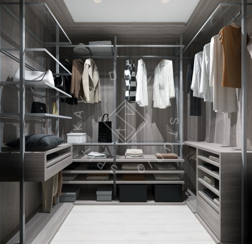 Дизайн интерьера квартиры под сдачу - 13