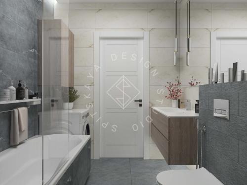 Дизайн квартиры в ЖК Счастливый - 24
