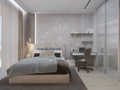 "Дизайн проект квартиры в ЖК ""Bartolomeo Resort Town"" - 39"