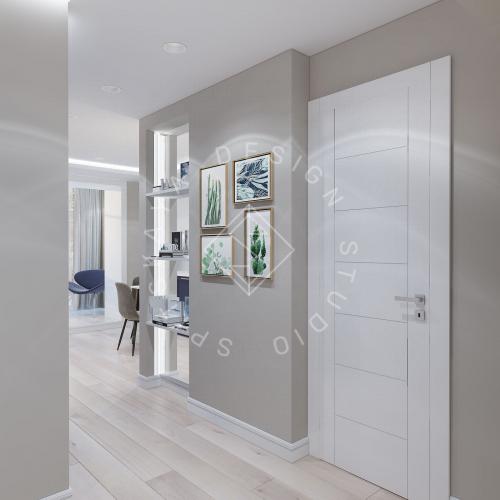 Дизайн проект небольшой квартиры - 7