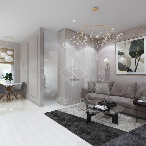 Дизайн интерьера квартиры под сдачу - 4