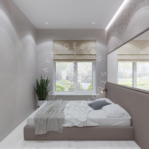 Дизайн интерьера квартиры под сдачу - 7