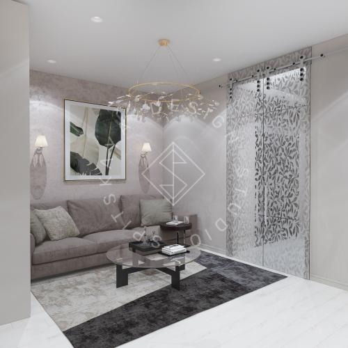 Дизайн интерьера квартиры под сдачу - 3