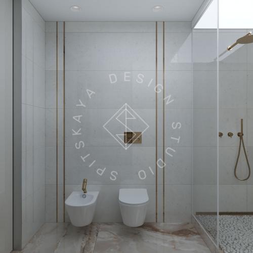 """Дизайн квартиры-студии в ЖК """"Bartolomeo Resort Town"""" г. Днепр - 7"""