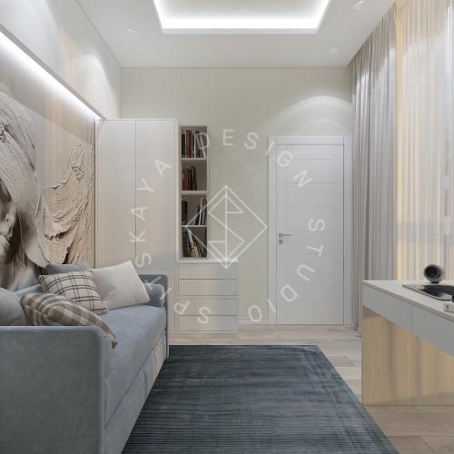 Дизайн квартиры в ЖК Панорама г. Днепр 2019г - 15