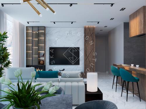 Дизайн квартиры в ЖК Панорама г. Днепр - 5