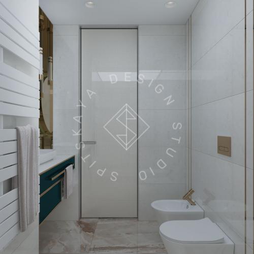 """Дизайн квартиры-студии в ЖК """"Bartolomeo Resort Town"""" г. Днепр - 5"""