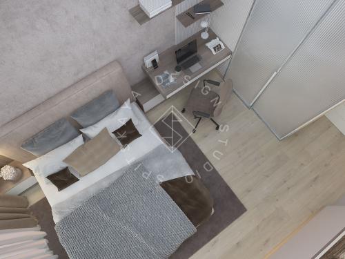 "Дизайн проект квартиры в ЖК ""Bartolomeo Resort Town"" - 41"