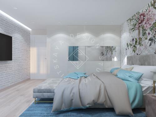 Дизайн проект небольшой квартиры - 12