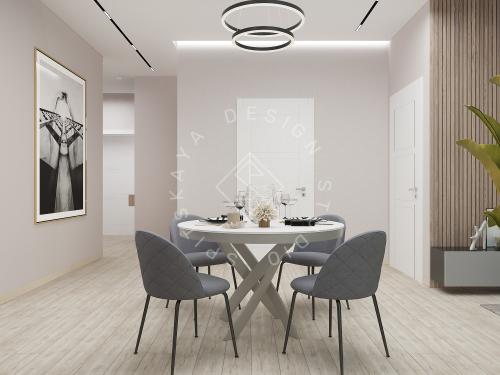 Дизайн интерьера квартиры в ЖК Грани - 5