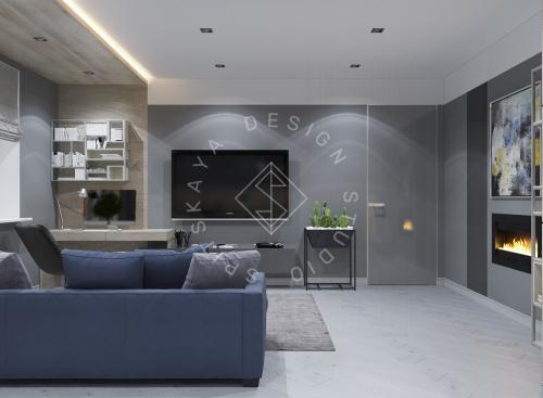 Дизайн интерьера квартиры в ЖК Чкаловский - 3